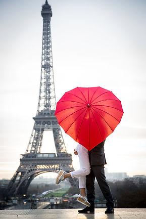 Proposal in Paris, engagement in Paris