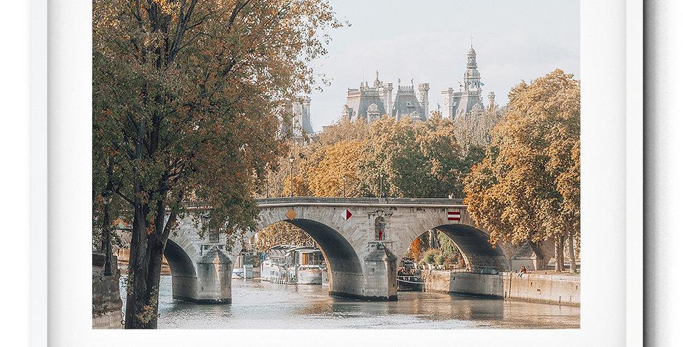 Autumn in Paris Seine