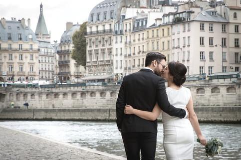 A Paris elopement