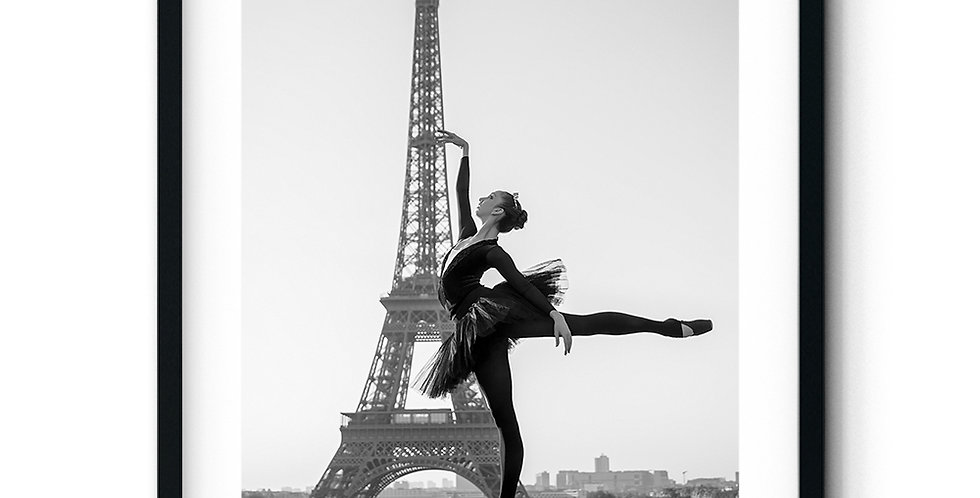A ballerina in Paris