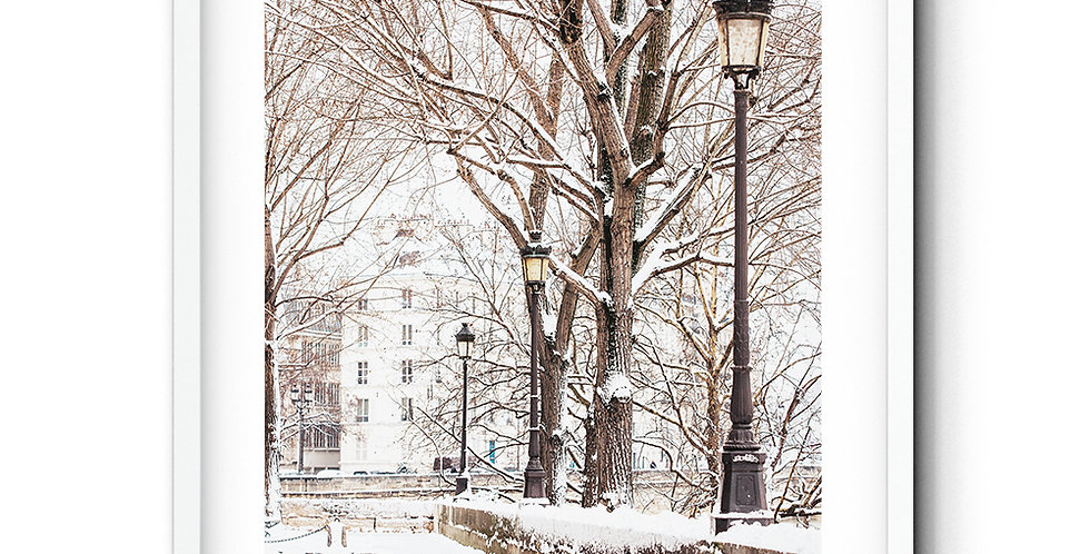 Ile Saint Louis winter