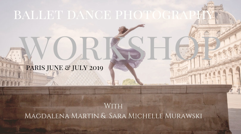 photography workshop in Paris