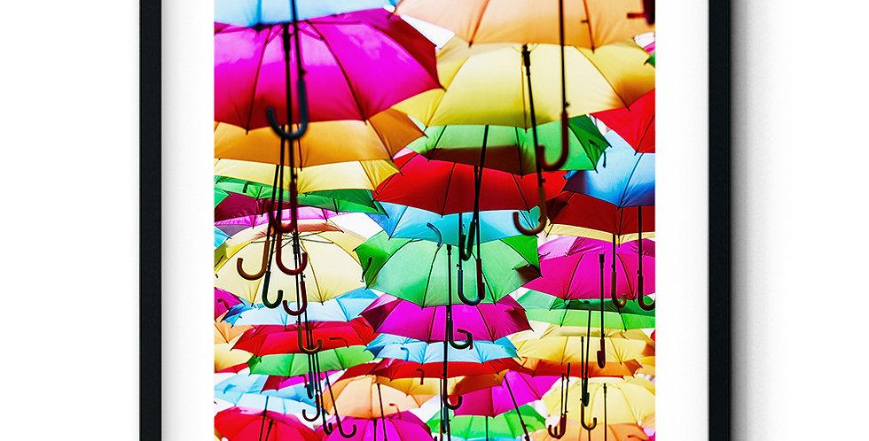 Colorful Umbrellas I