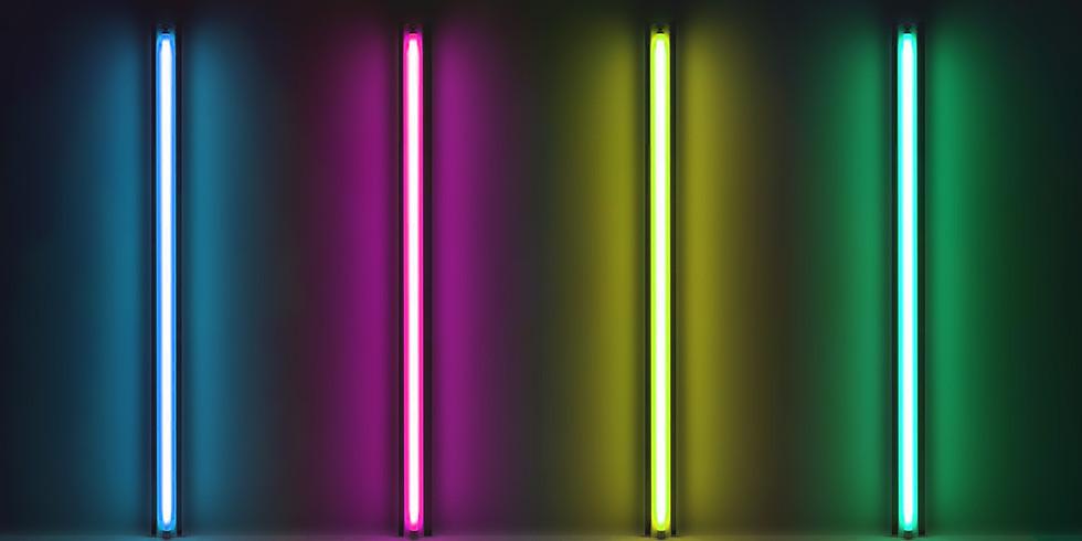 OLI SORENSON - LED FLAVIN - ELEKTRA GALLERY