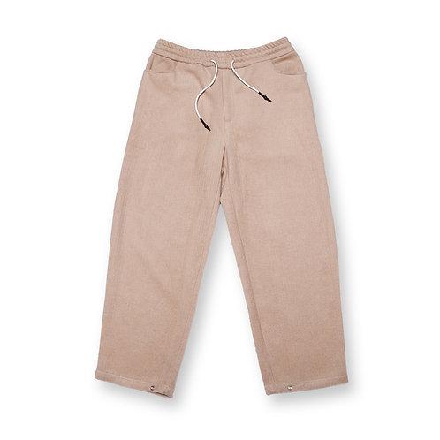 Adjustable Corduroy Khaki Trousers