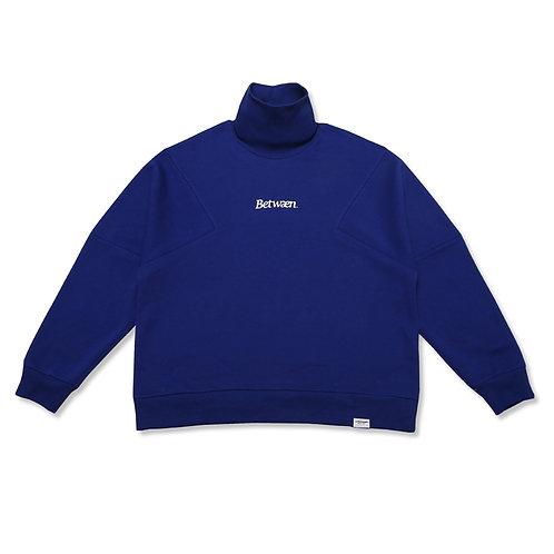 High Neck Logo Sweater