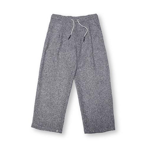 Adjustable Grey Wool Trousers