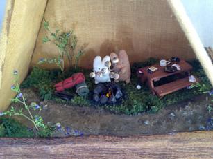 Hunny Bunny Camping Trip