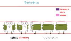 Toasty Tales- BURGER