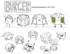 Burger Development Sketches