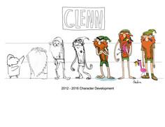 Glenn Development Sketches