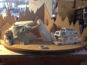 Toasty Tales Diorama WIP