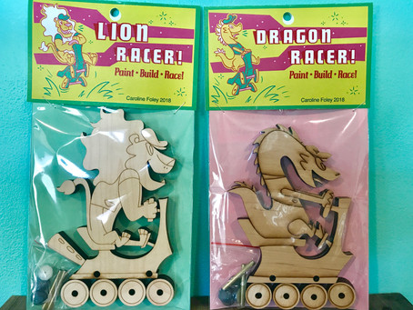 Lion and Dragon Racer Toys Are Here!