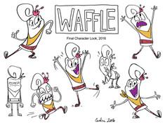 Waffle Poses