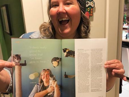 Featured Artist in Keyframe Magazine