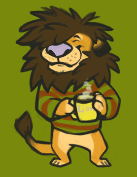 Morning Lion