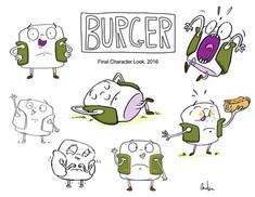 Burger Poses