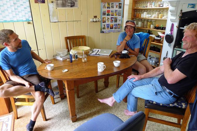 """Te Araroa – On Meeting """"The Man of the Trail"""""""