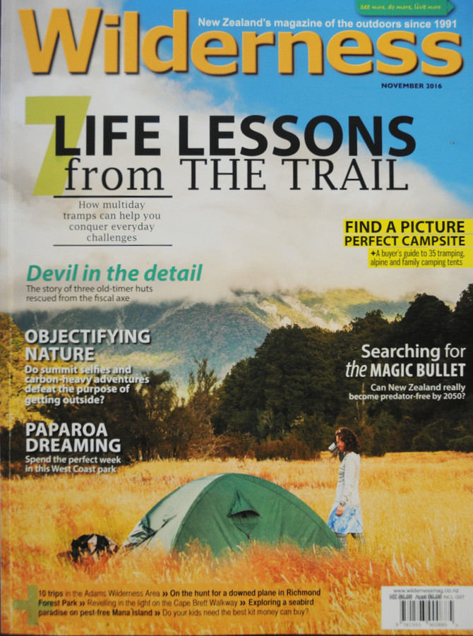 Wilderness Magazine - November 2016