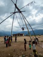 Bamboo swing - Khadbari - Sankhuwasabha District