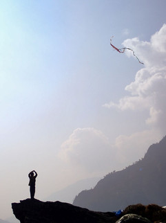 The Kite Runner - between Dharapani and Lumsung -  Myagdi District