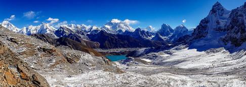 View from Renjo La - Sagarmatha National Park - Solukhumbu District