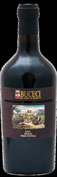 Vino Buceci Nero d'Avola 750 ml.