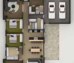 2D Design Layout Proposal -  4 BHK VILLA ( Chennai )