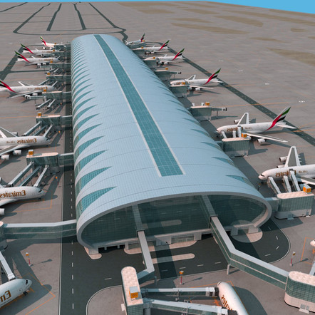 Dubai International Airport - Concourse