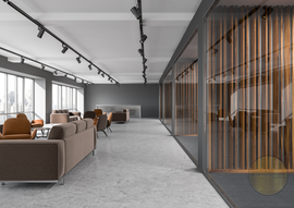 Luxury Office Waiting Area