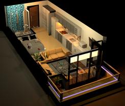 Studio Apartment ( Bangalore) - Interior Design
