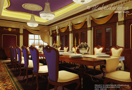 VVIP - GUEST DINING AREA