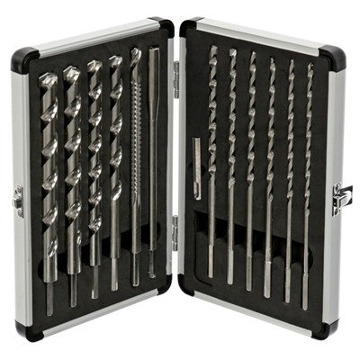 12 Piece Extended Drill All Drill Bit Set
