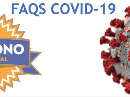 FAQS COVID-19 - Desactualizado