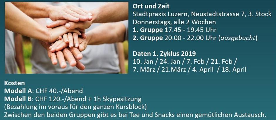 """Impulsabend in Luzern """"Leichter leben lernen"""" dank kinesiologischen Balancen"""