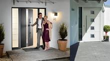 Купить алюминиевые входные двери в Анапе