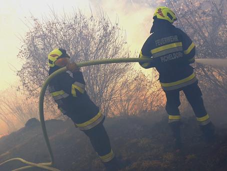 Waldbrand in Picheldorf