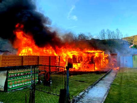 Großbrand in Bruck an der Mur