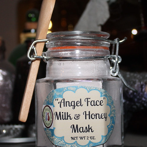 """""""Angel Face"""" Milk and Honey Mask"""