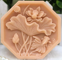 Octagon Lotus Flower & Gold Fish 4J.jpg