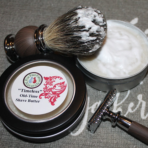 """Timeless"" Old Time Shave Butter"