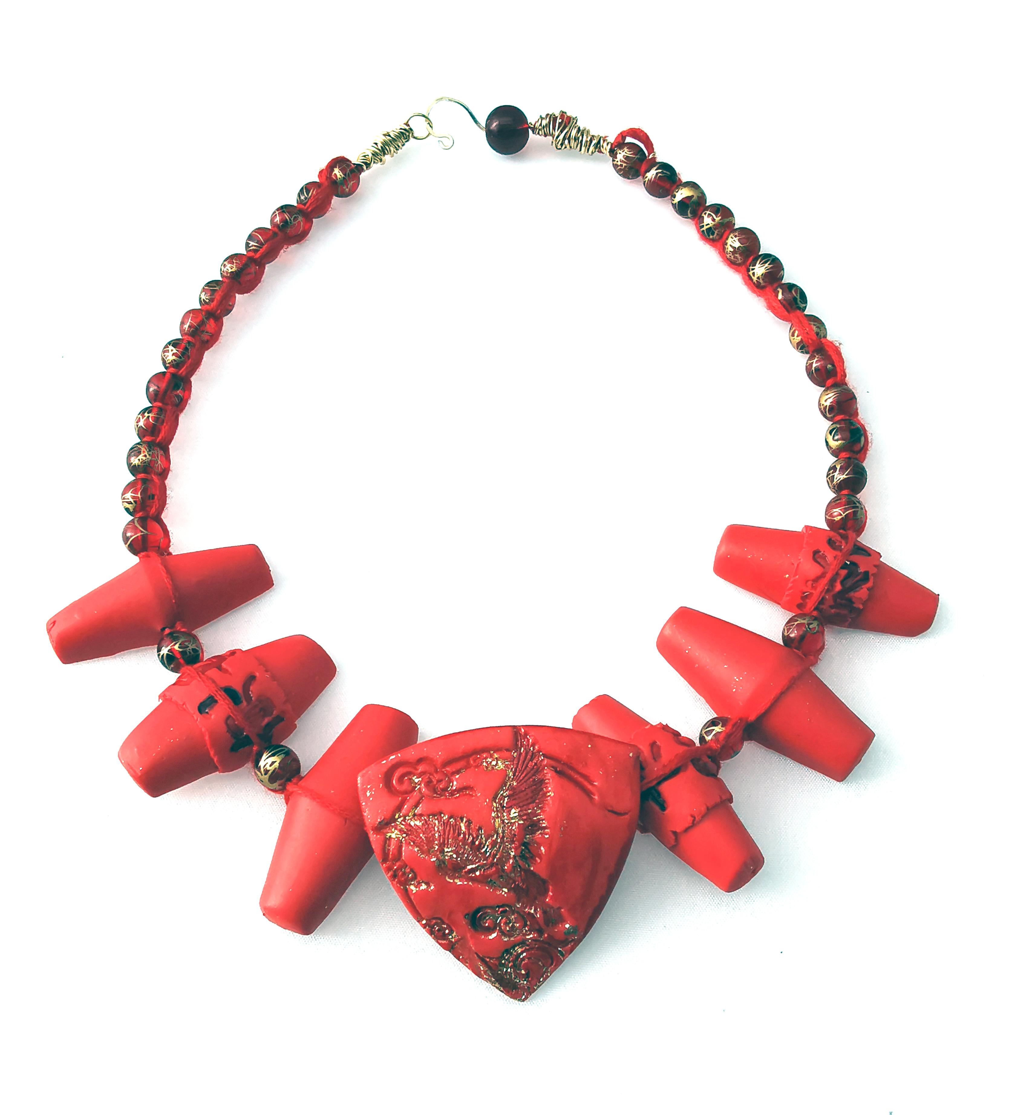 Silk Road Neckpiece - Mihaela Georgescu