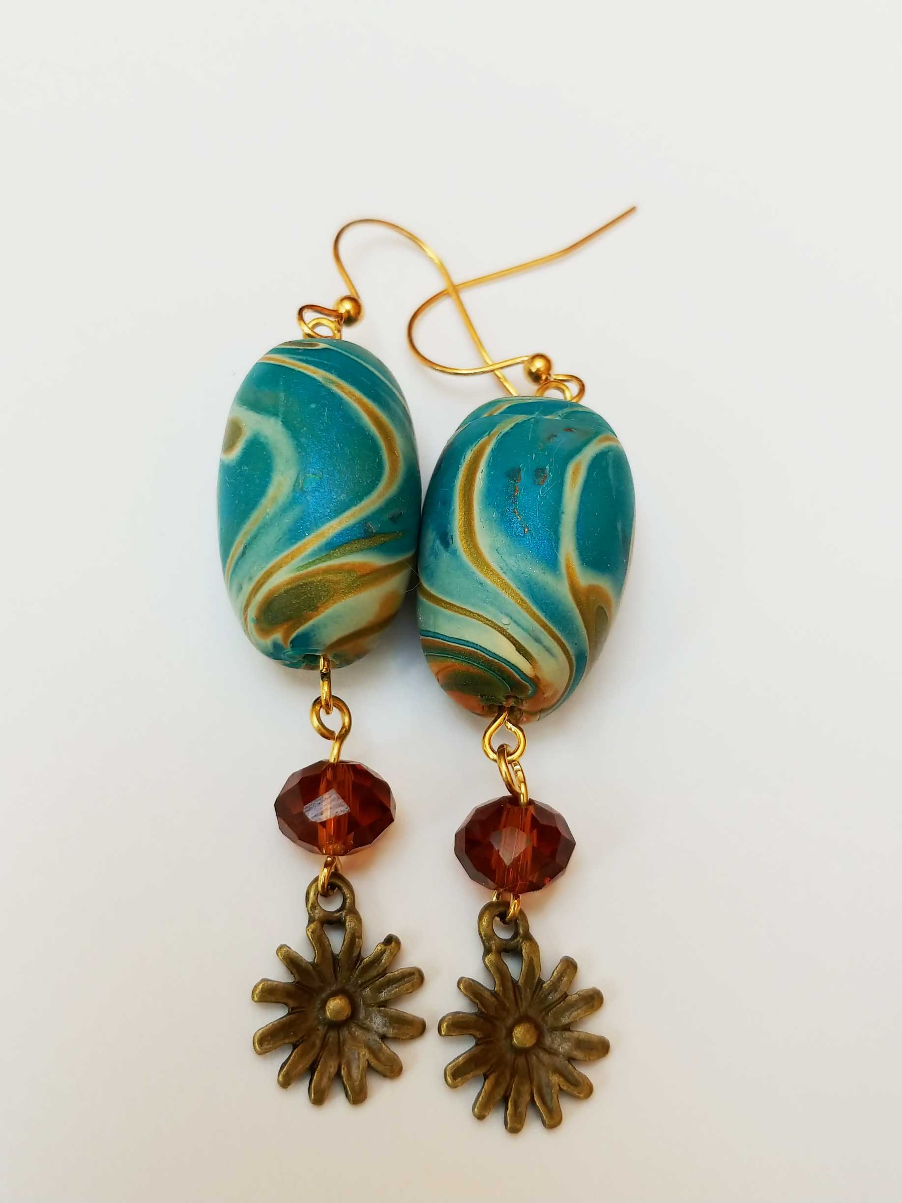 Veneer Bead Earrings - Liz Stefano - Pro