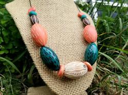 Carved Bead Necklace - Sherri Thompson -