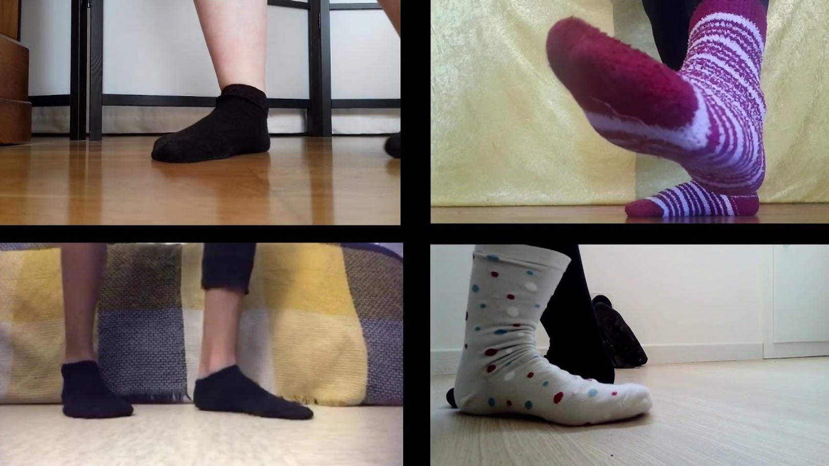Les pieds sur terre