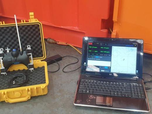 UAV Gas Detection