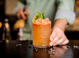 Oranžový koktejl