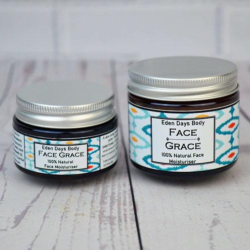 Face Grace  Moisturiser - Mango Butter, Rosewood & Vetiver