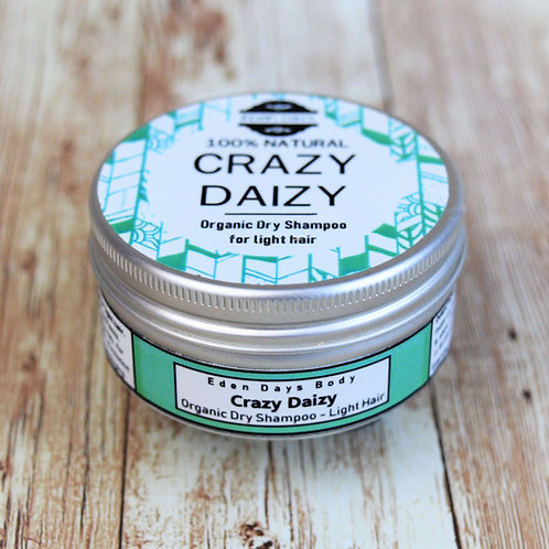 Crazy Daizy - Organic Dry Shampoo for Light Hair - Eden Days Body