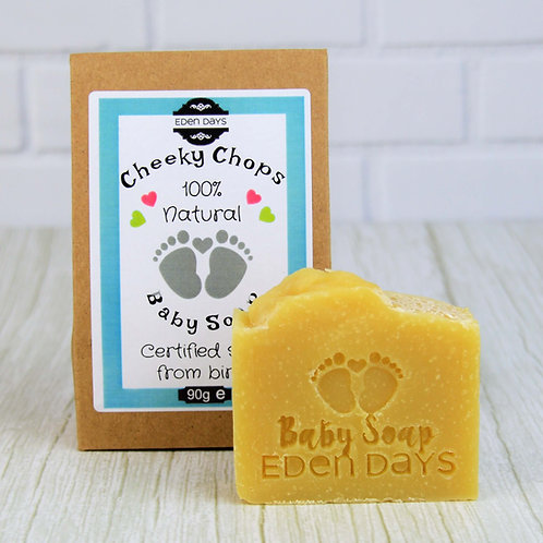 Cheeky Chops Baby Soap  - Infused with Organic Calendula